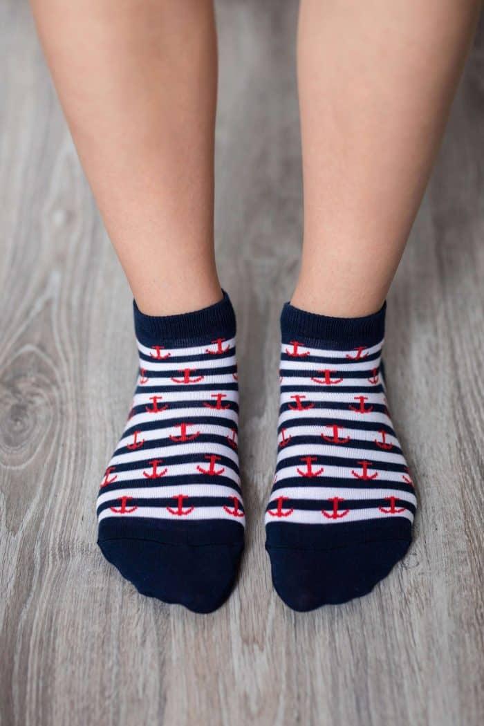 Barefoot ponožky krátke - BeLenka - Kotvy 1