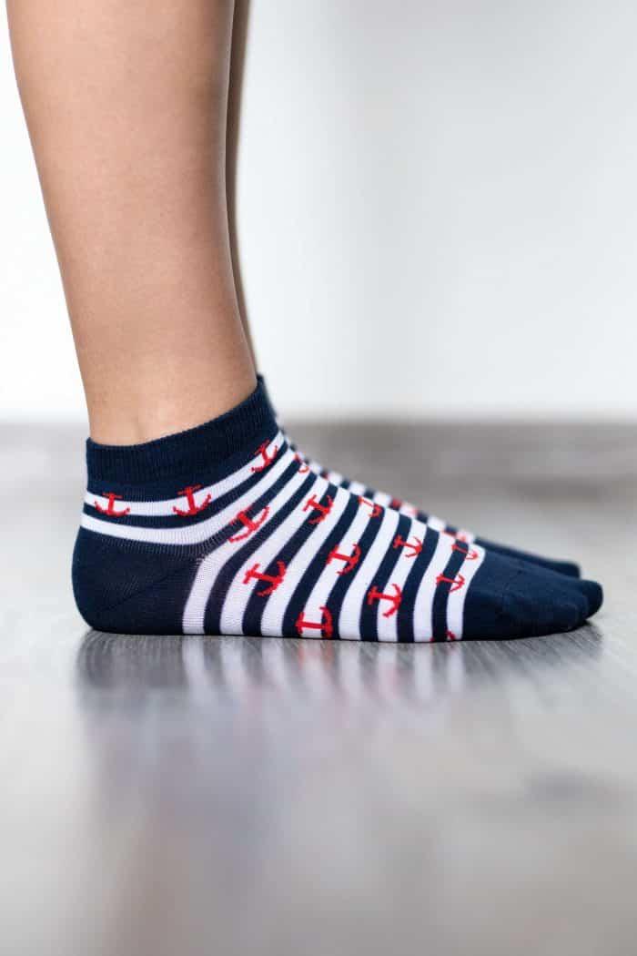 Barefoot ponožky krátke - BeLenka - Kotvy 2