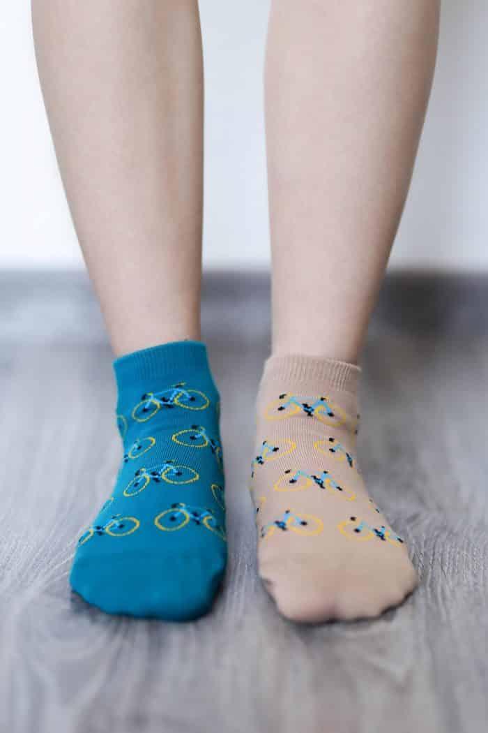 Barefoot ponožky krátke - BeLenka - Bicykle 1