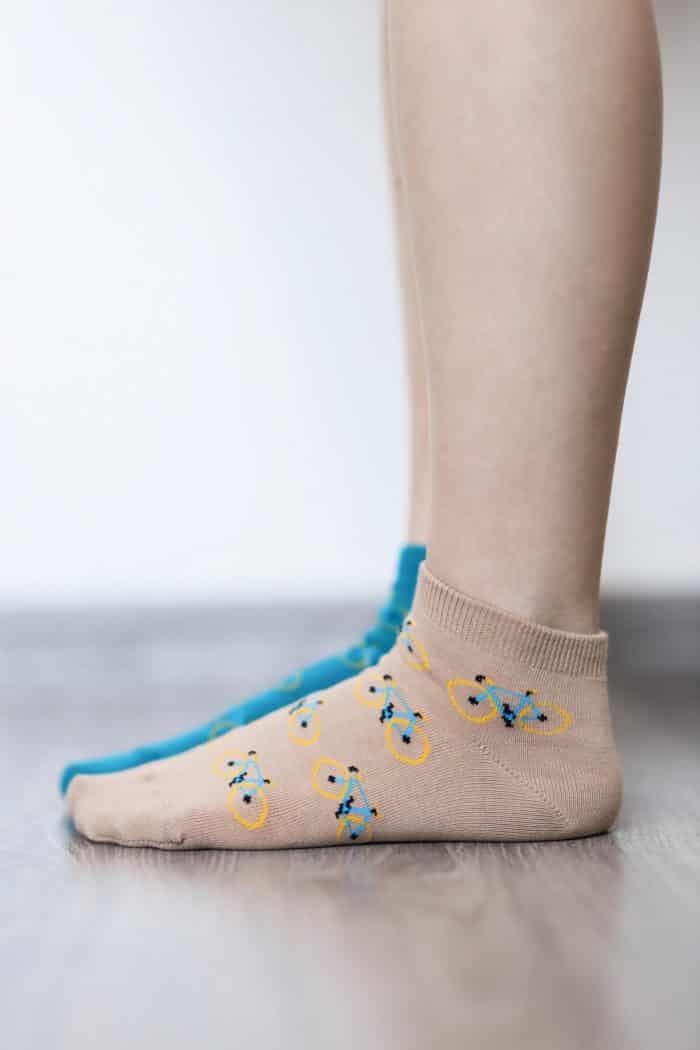 Barefoot ponožky krátke - BeLenka - Bicykle 3