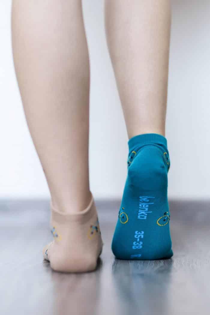 Barefoot ponožky krátke - BeLenka - Bicykle 4