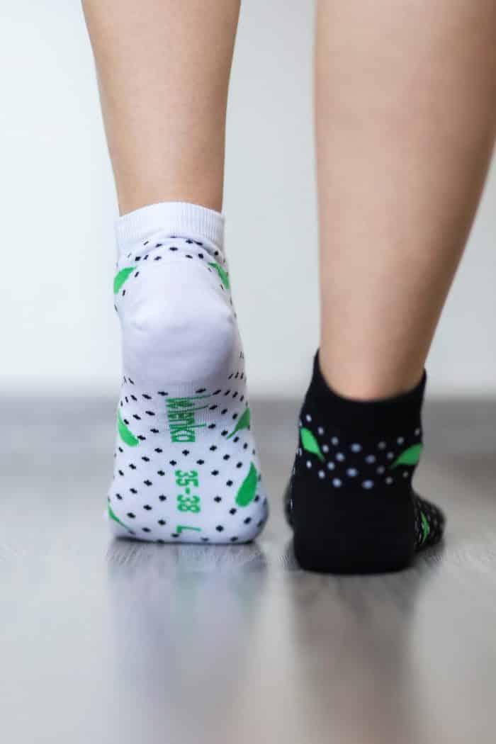 Barefoot ponožky krátke - BeLenka - Čerešne 4