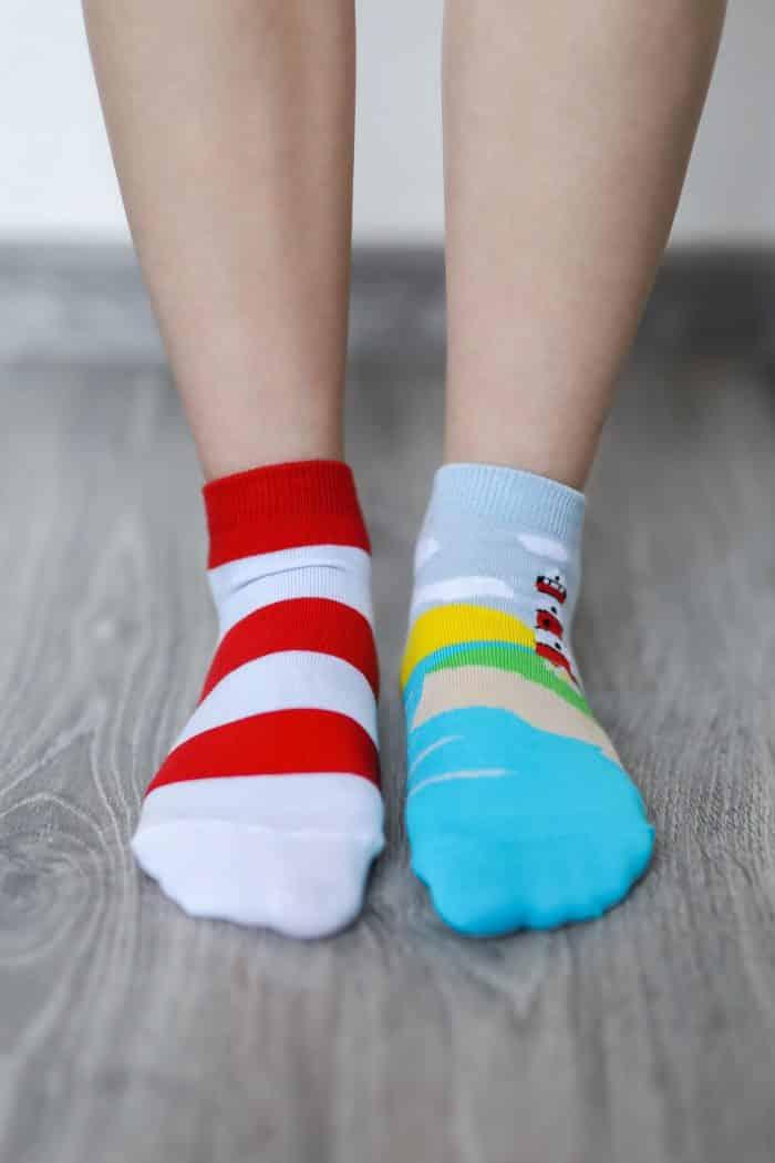 Barefoot ponožky krátke - BeLenka - Maják 1