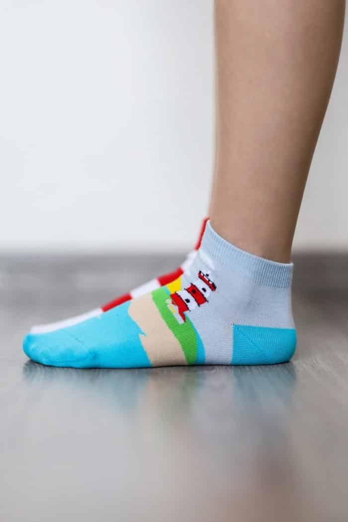 Barefoot ponožky krátke - BeLenka - Maják 3