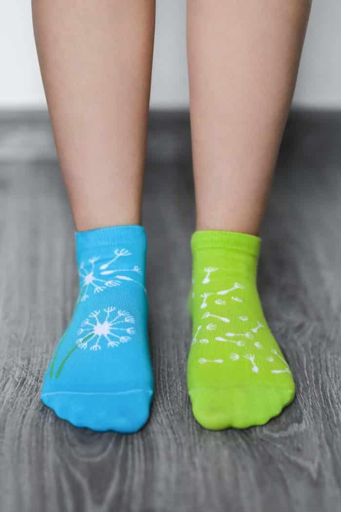 Barefoot ponožky krátke - BeLenka - Púpava 1