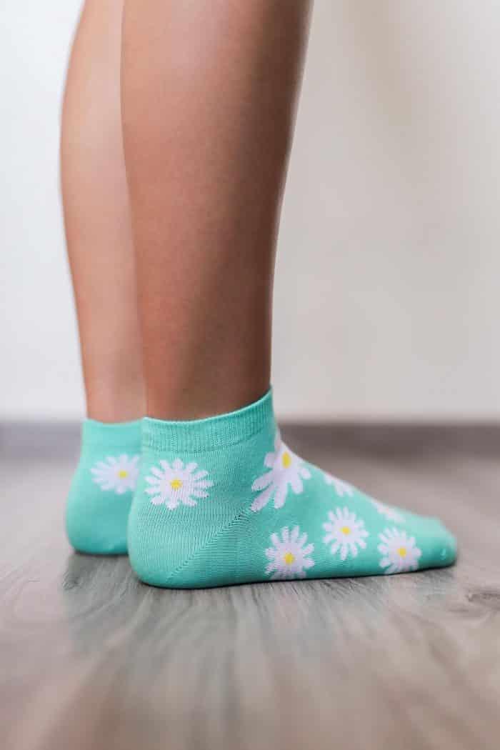 Barefoot ponožky krátke - BeLenka - Margarétky 3