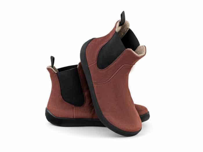 BeLenka Entice - Burgundy - Barefoot topánky 3
