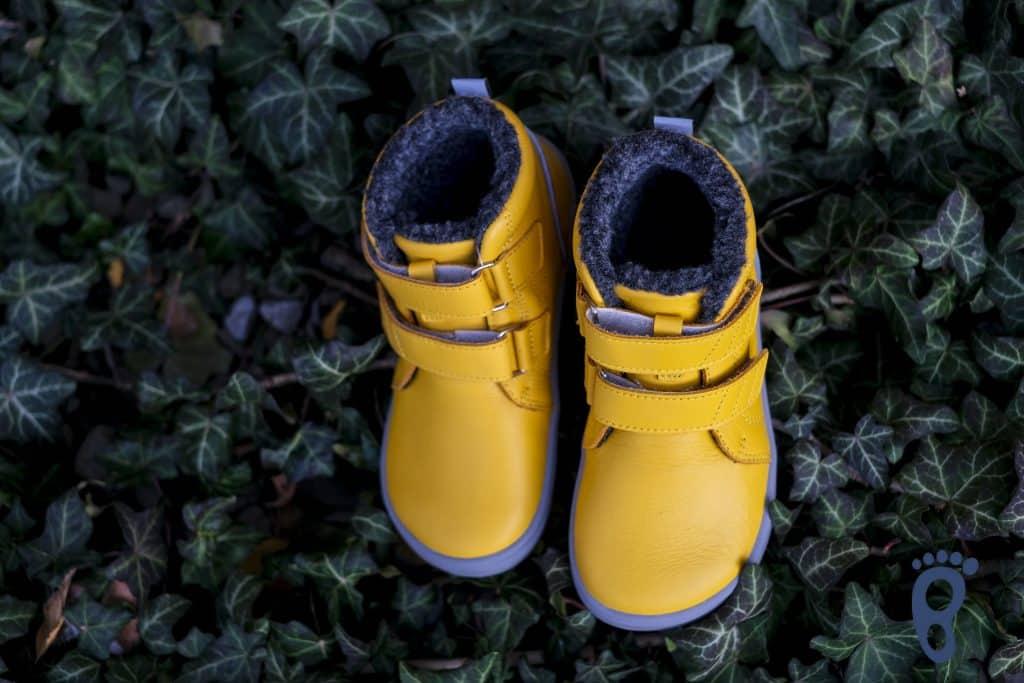 BeLenka Penguin - Zimná kvalitná detská barefoot obuv. 11