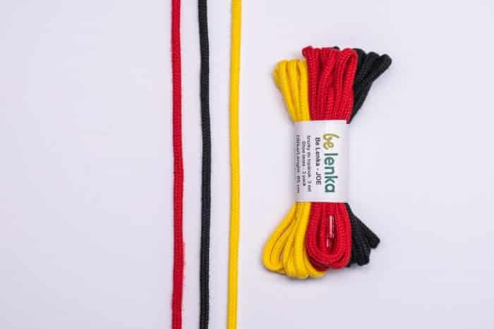 Šnúrky do topánok Joe - 3 balenie - 85 cm 2