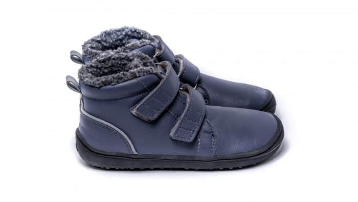 Detské zimné barefoot topánky Be Lenka Penguin - Charcoal 2