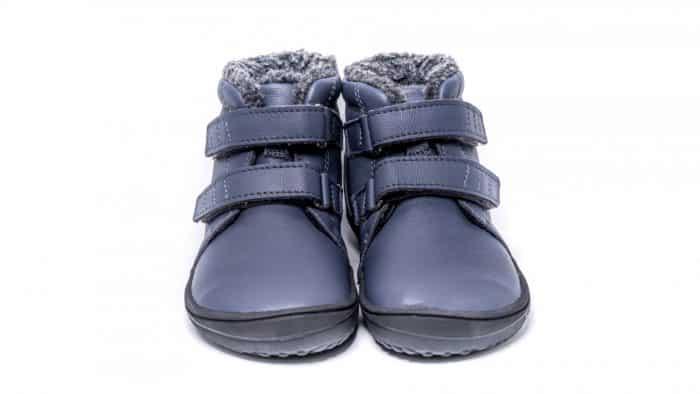 Detské zimné barefoot topánky Be Lenka Penguin - Charcoal 3