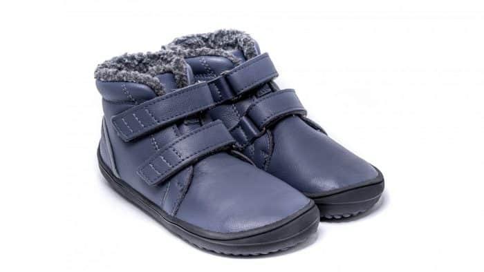 Detské zimné barefoot topánky Be Lenka Penguin - Charcoal 4