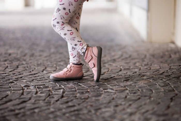Detské zimné barefoot topánky Be Lenka Penguin - Pink 4