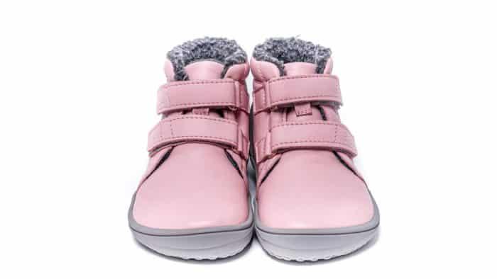 Detské zimné barefoot topánky Be Lenka Penguin - Pink 1