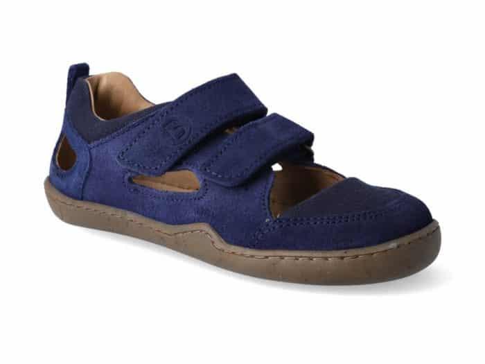 blifestyle barefoot sandalky kammmolch bio strap marine wide
