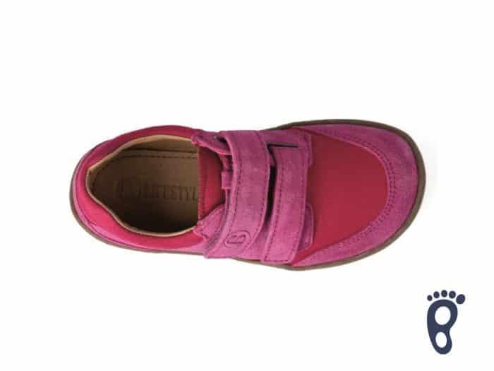 bLIFESTYLE - Tenisky SKINK - Bio Strap Cranberry 5