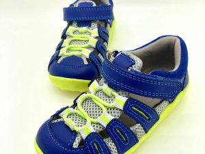 bobux summit blueberry neon sandalky