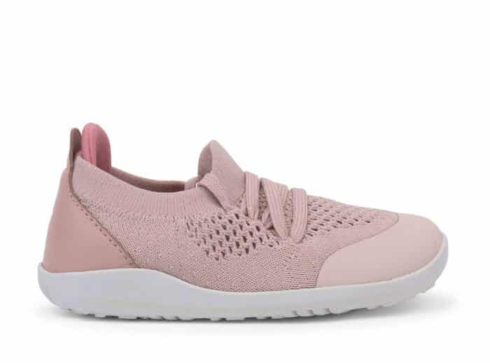 Bobux – I walk/Kid+ Play Knit Trainer Seashell 1