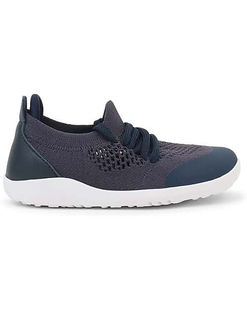 Bobux – I walk/Kid+ Play Knit Trainer Navy 1