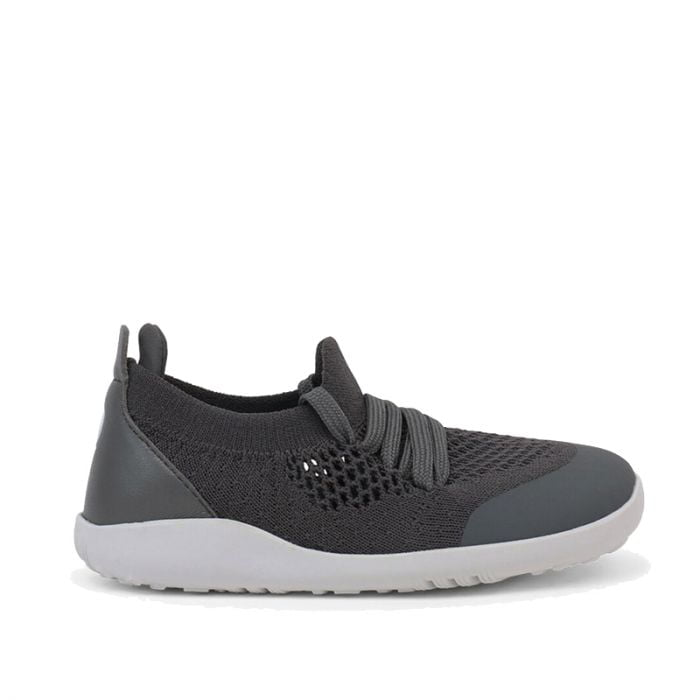 Bobux – I walk/Kid+ Play Knit Trainer Smoke 1