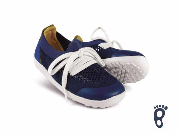 Bobux – Step Up/I walk/Kid+ Play Knit Trainer Blueberry Yellow 2