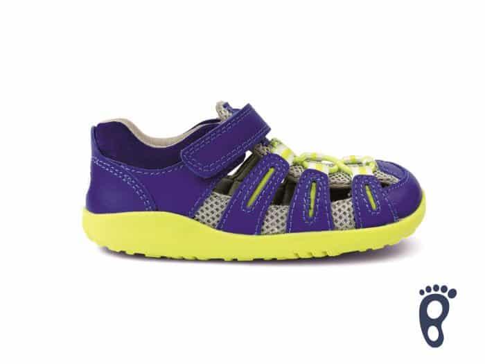 Bobux – Summit - Blueberry Neon - sandálky 1