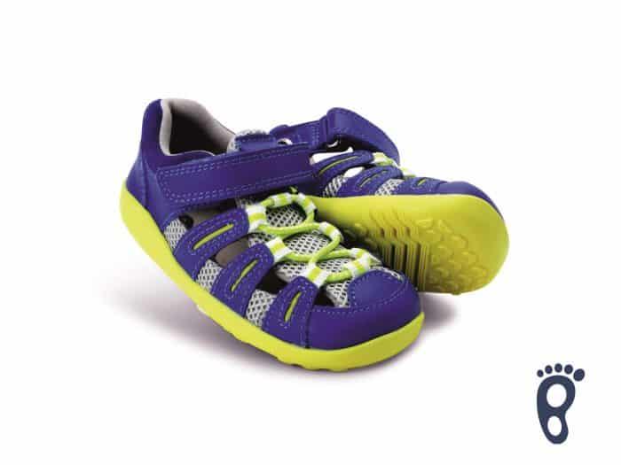 Bobux – Summit - Blueberry Neon - sandálky 2