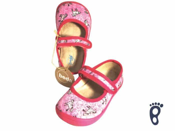 BOTY BEDA - Balerínky - Ružový koník 1