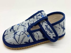 boty beda papucky sede lietadlo slim barefoot papuce
