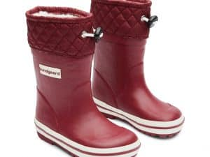 bundgaard sailor rubber boot warm bordeaux