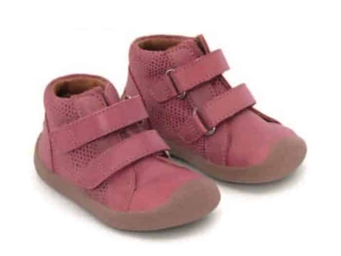 bundgaard the walk velcro pink glitter