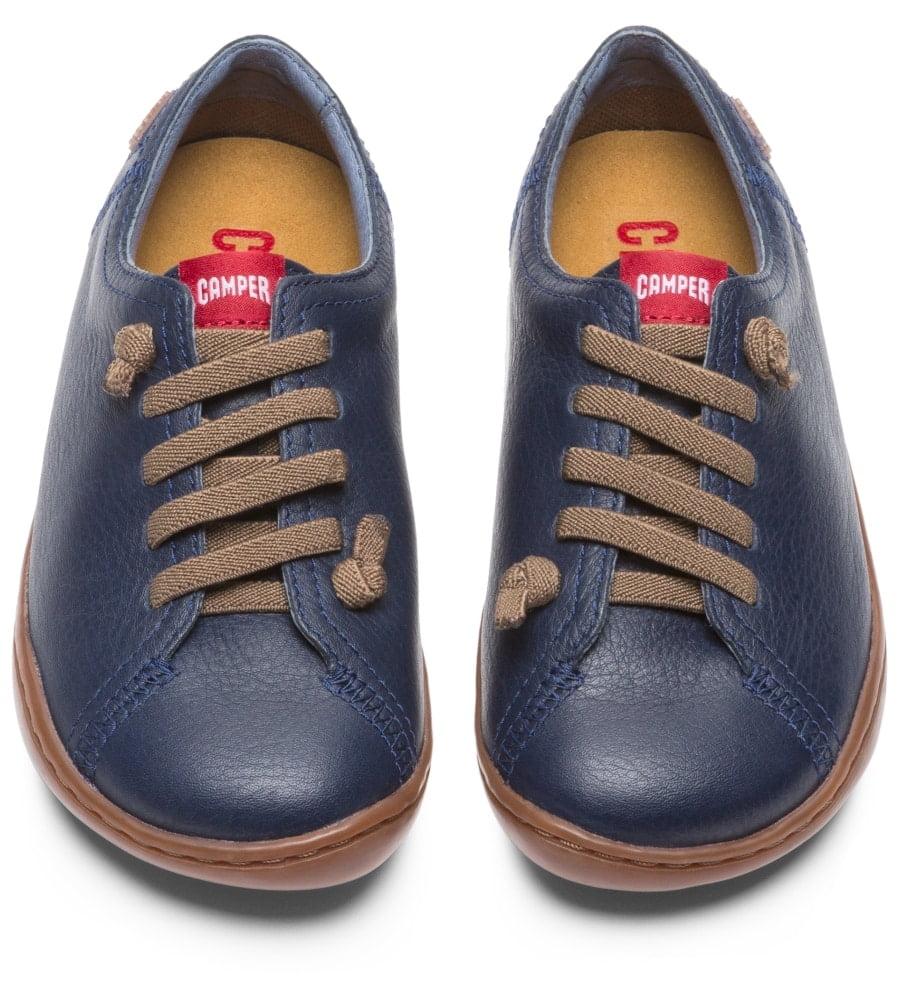 9885d397ac893 Camper - Peu - prechodné topánky - Modré • Bosáčik