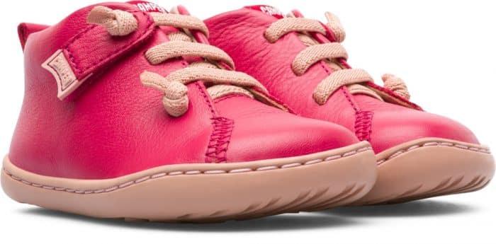 camper peu first walker pink