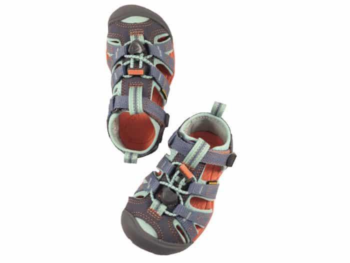 Sandále KEEN - SEACAMP II CNX Y - Flint Stone/Ocean Wave veľ 32/33-36 1