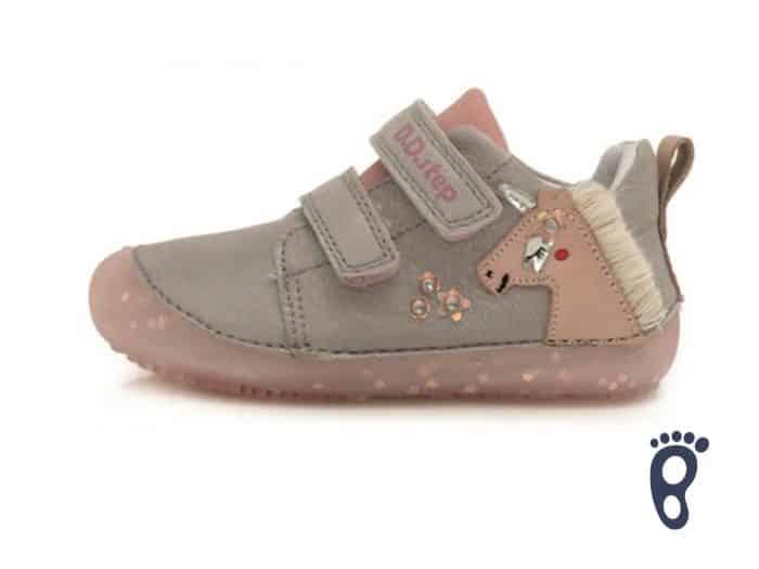 D.D.Step - Prechodné topánky - Light Grey Unicorn 1