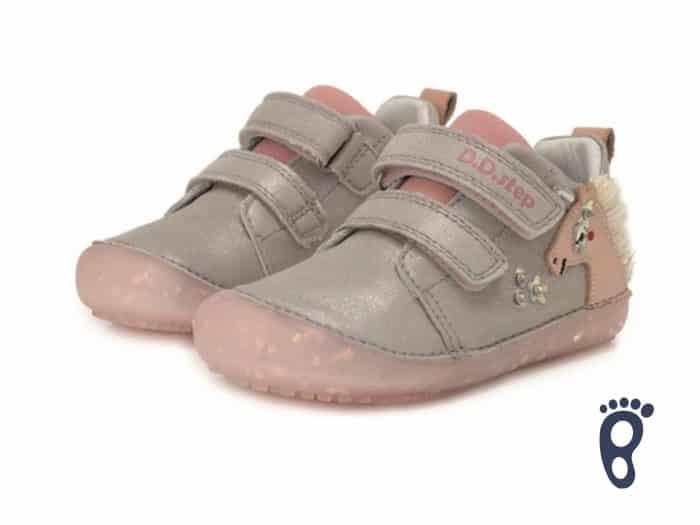 D.D.Step - Prechodné topánky - Light Grey Unicorn 2