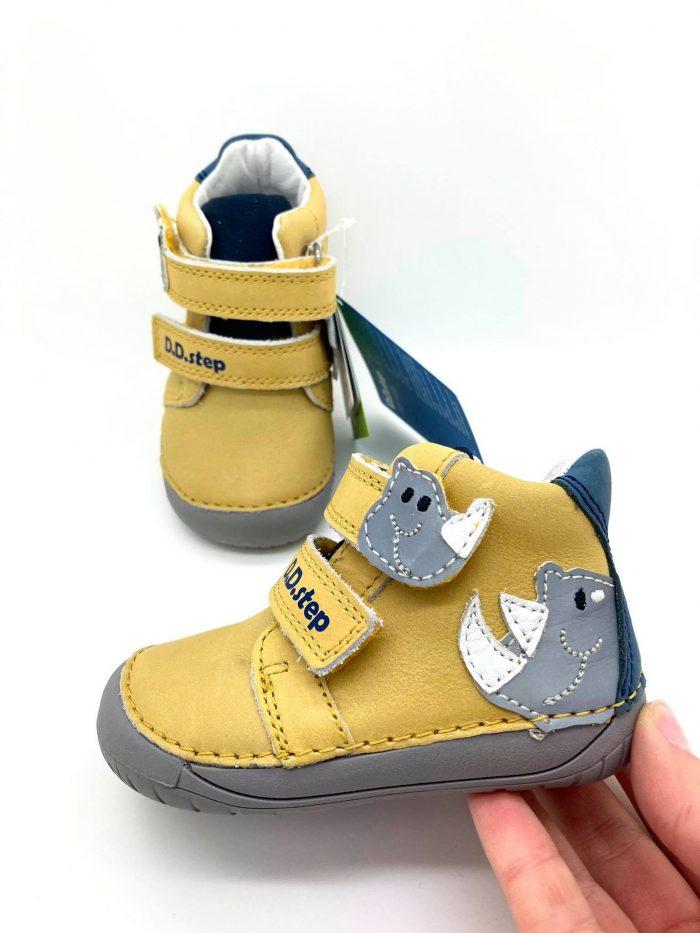 D.D.Step - Prechodné topánky - Yellow Dino 7