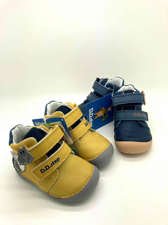 D.D.Step - Prechodné topánky - Yellow Dino 9