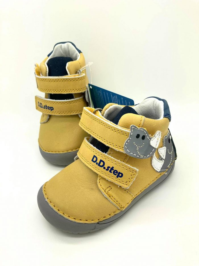 D.D.Step - Prechodné topánky - Yellow Dino 8