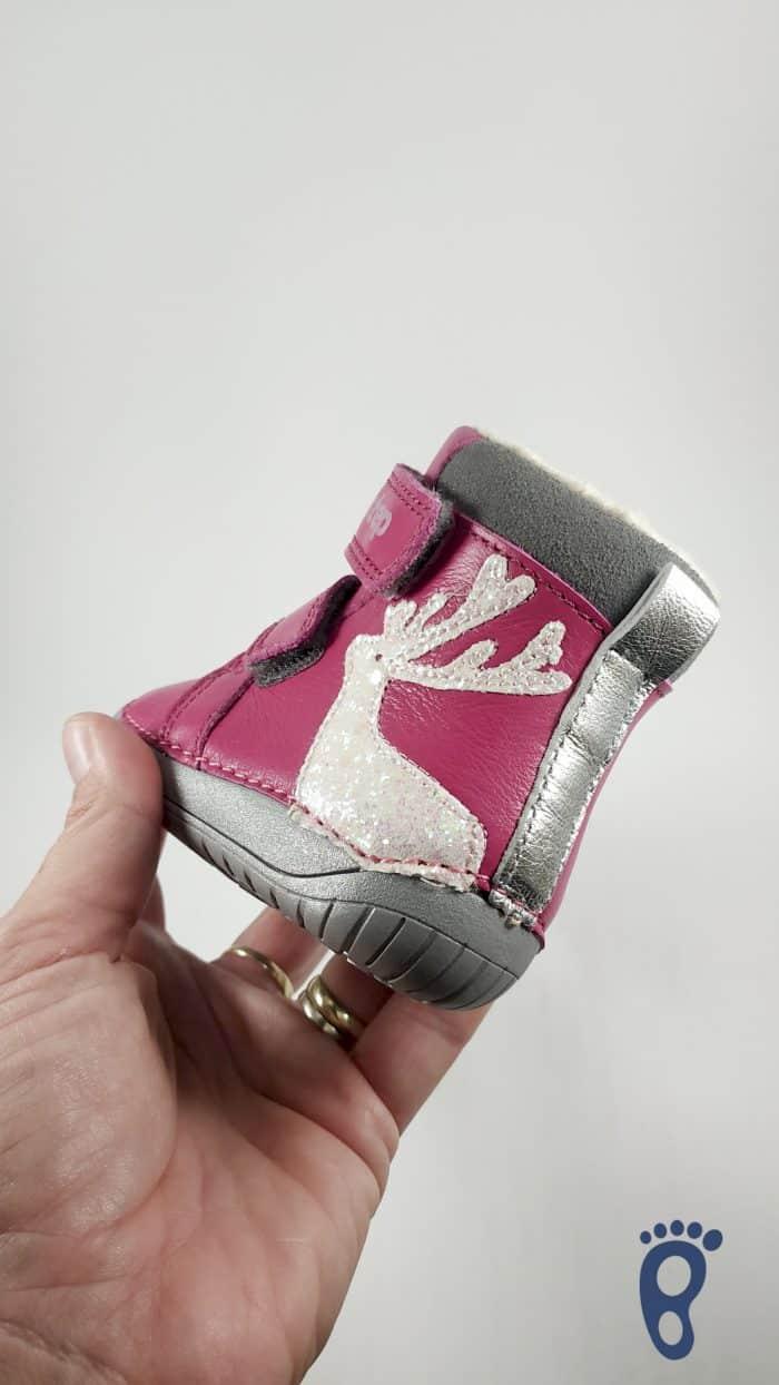 D.D.Step  - Zimné topánky - Dark Pink - Reindeer 4