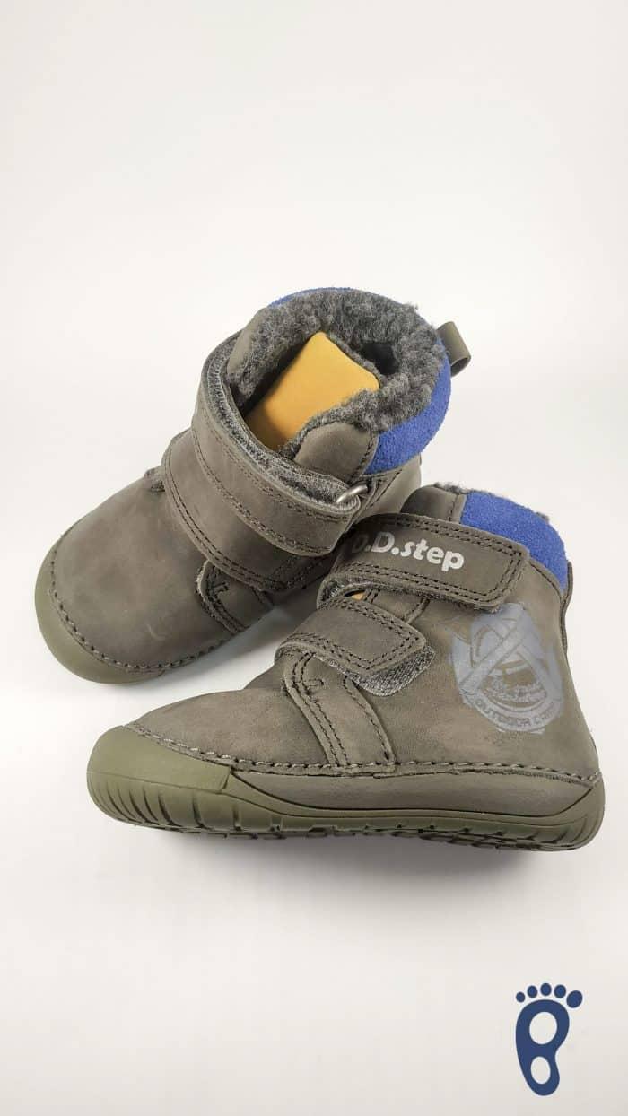 D.D.Step  - Zimné topánky - Dark Grey - Stamp 1