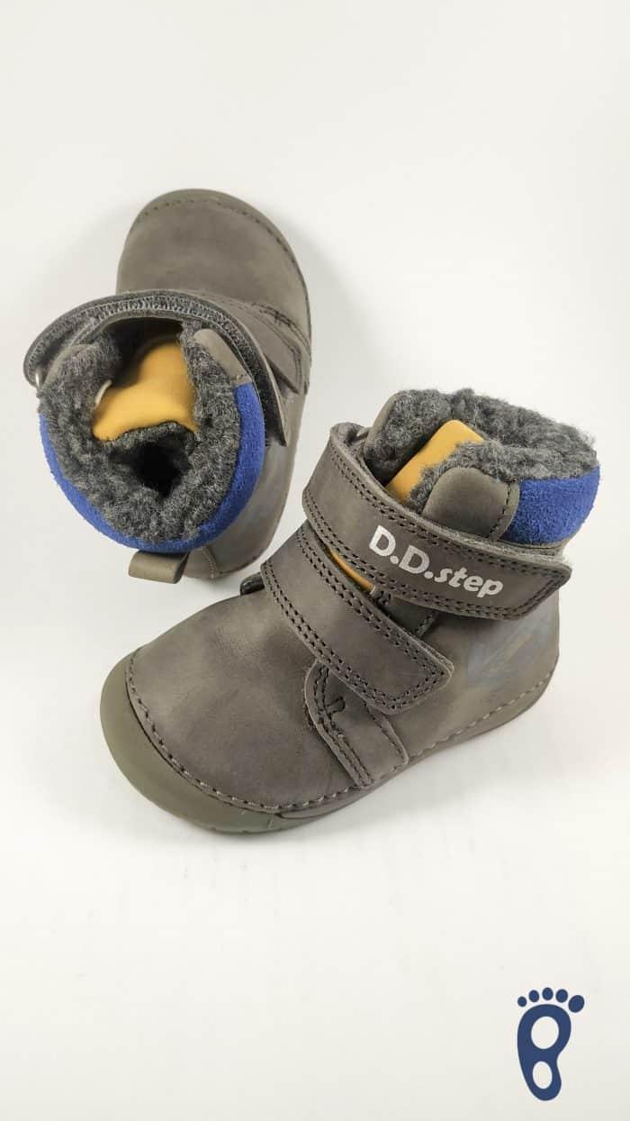 D.D.Step - Zimné topánky - Dark Grey - Stamp 2