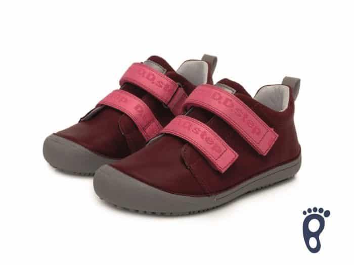 D.D.Step - Prechodné topánky - Dark pink 2