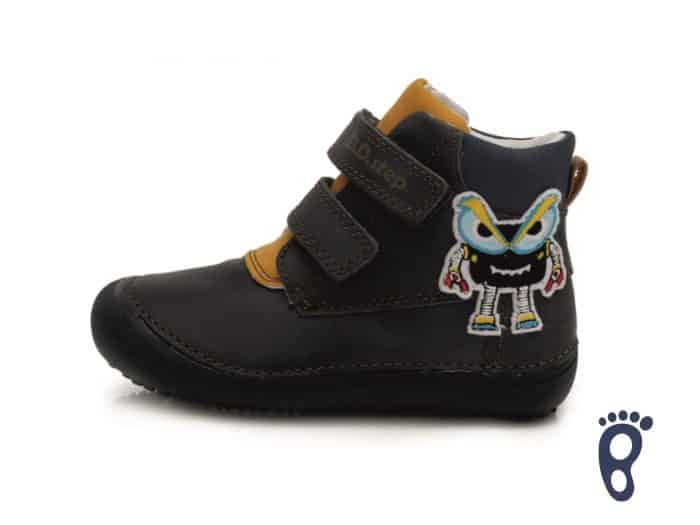 D.D.Step - Prechodné topánky - Royal blue Monster 1