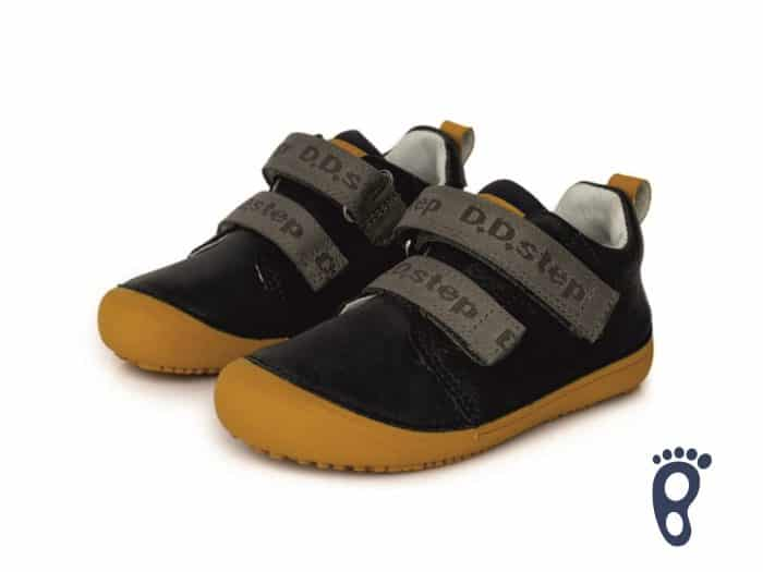 D.D.Step - Prechodné topánky - Dark grey - Barefoot 1