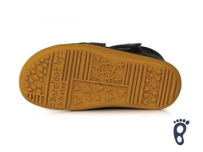 D.D.Step - Prechodné topánky - Dark grey - Barefoot 5
