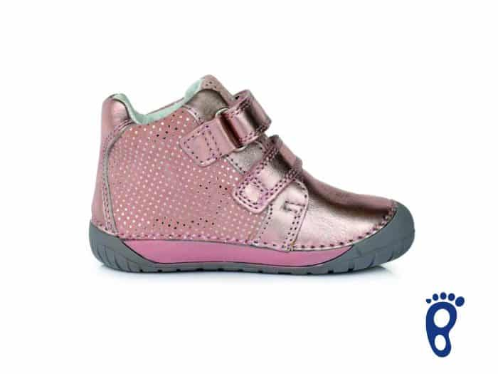 D.D.Step - Prechodné topánky - Metalic Pink - Barefoot 3