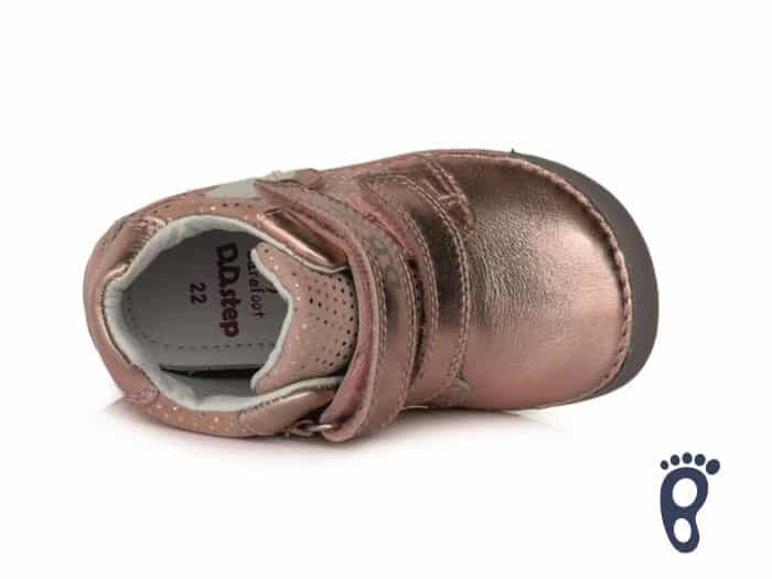 D.D.Step - Prechodné topánky - Metalic Pink - Barefoot 4