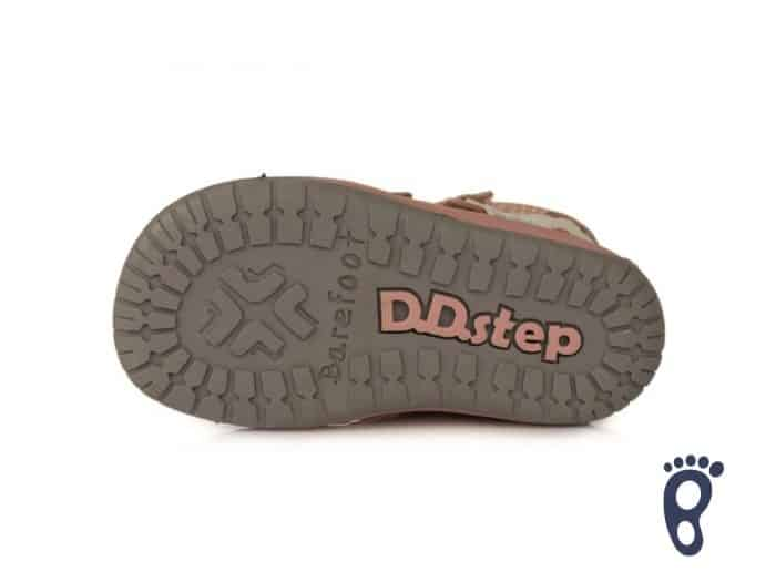 D.D.Step - Prechodné topánky - Metalic Pink - Barefoot 5