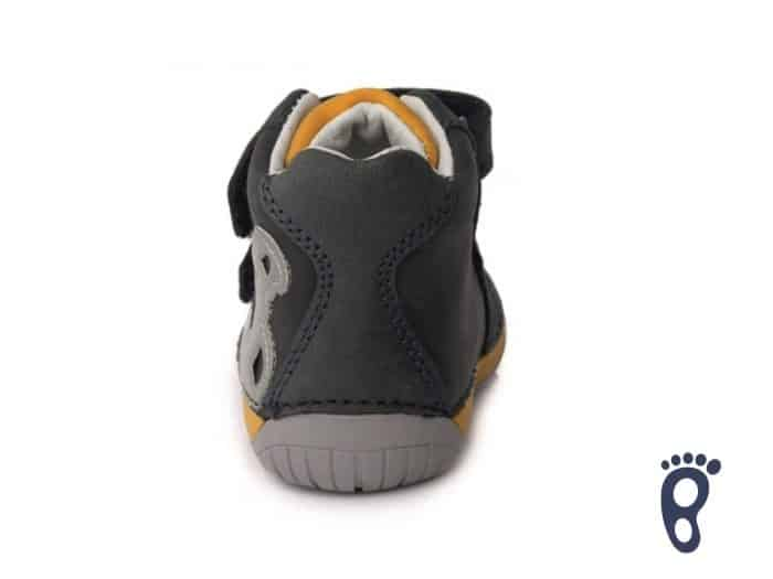 D.D.Step - Prechodné topánky - Royal Blue - Barefoot 1